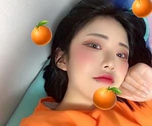 orange and ulzzang image