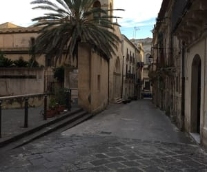 alley, beautiful, and palm tree image
