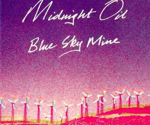 1990, music, and midnight oil image