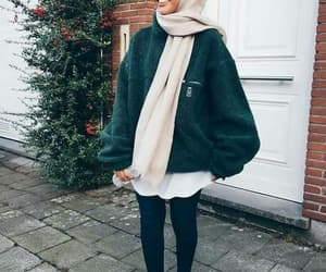 hijab, fashion, and style image