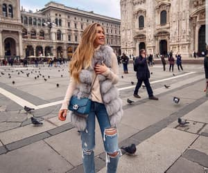 beautiful, hairstyle, and milan image
