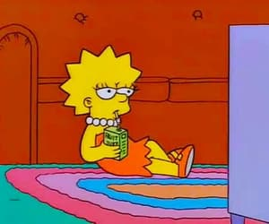 juice, the simpsons, and lisa image