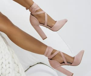 aesthetic, brown, and heels image