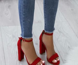 heels and red image