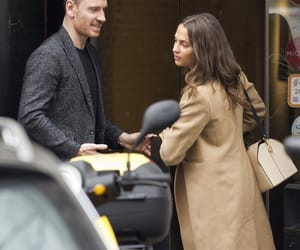 actor, michael fassbender, and actress image