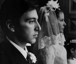 al pacino, The Godfather, and wedding image