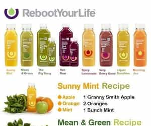 diy, fresh, and juice image