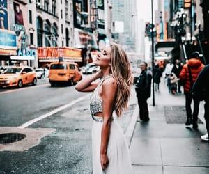 dress, new york, and nyc image