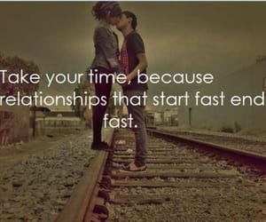 Relationship, time, and love image
