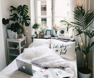 aesthetic, decor, and bedroom image
