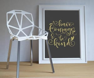 nursery decor, quote print, and inspirational sign image