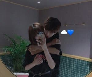 asian couple and love image
