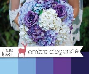 blue, bride, and bridesmaid image