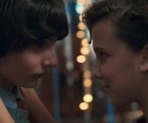 eleven, snowball, and stranger things image