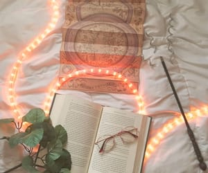 harry potter, lights, and the magicians image