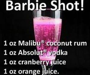 alcohol, barbie, and drinks image