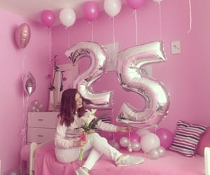 balloons, happy, and loved image