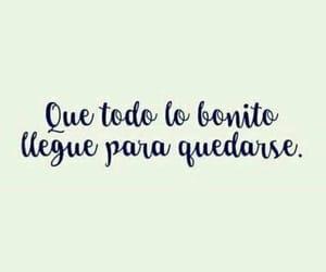 bonito, frases en español, and frases image