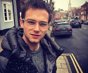 actor, brandon flynn, and funny face image