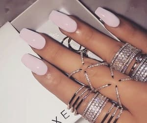 accessories, nails, and glam image