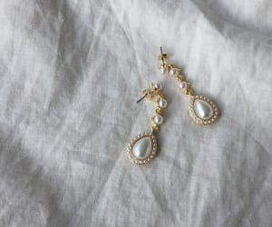 earrings, minimal, and jewelry image