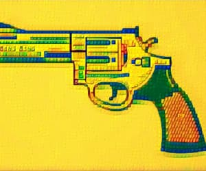 bang, blue, and guns image