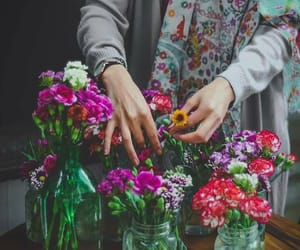 flowers, responsibility, and strong image