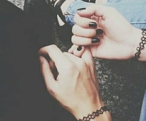 amor, couple goals, and hands image