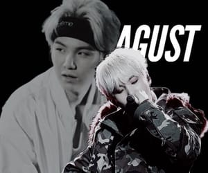 min, agust, and the last image
