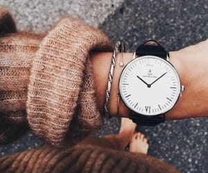 fashion, lookbook, and watch image