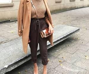 brown, hijab, and marron image