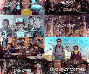 stranger things and stranger things quote image