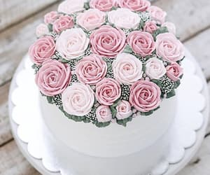 birthday cake, cake, and romantic image