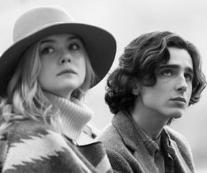 Elle Fanning and timothee chalamet image
