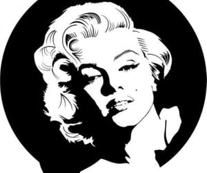 black and marilyn image