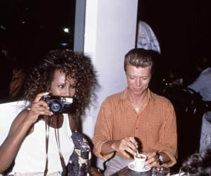 celebrity and david bowie image