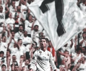 cristiano, real madrid, and soccer image