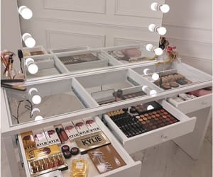 makeup, cosmetics, and mirror image