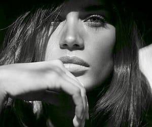 sara sampaio, black and white, and model image