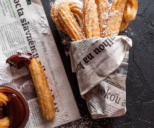 churros, food, and delicious image