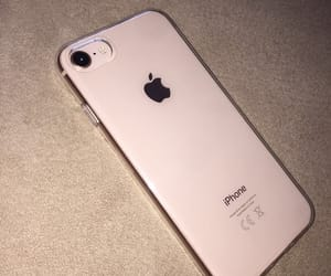 apple, girl, and gold image