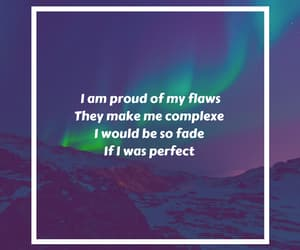 night, quote, and flaws image