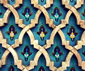 blue, Casablanca, and pattern image