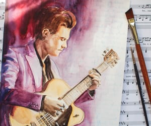 fanart, painting, and Harry Styles image