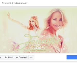 graphicdesign, facebookcover, and jenniferlawrence image