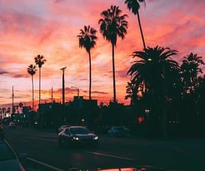 california, city, and sky image