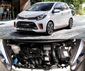 kia picanto, co2 emissions, and kia image