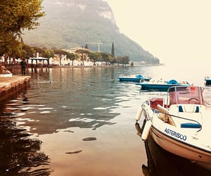 garda, italy, and lake image