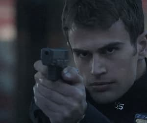theo james, divergent, and boy image