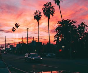 city, sky, and california image